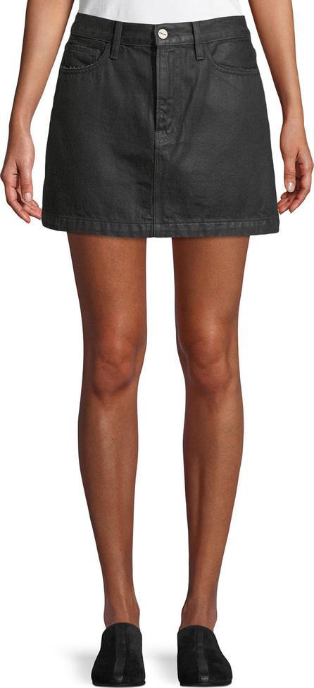 FRAME DENIM Le Mini Denim A-Line Skirt