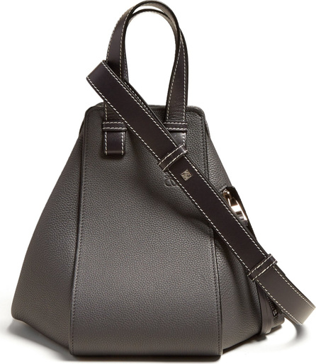 LOEWE Hammock small grained-leather bag