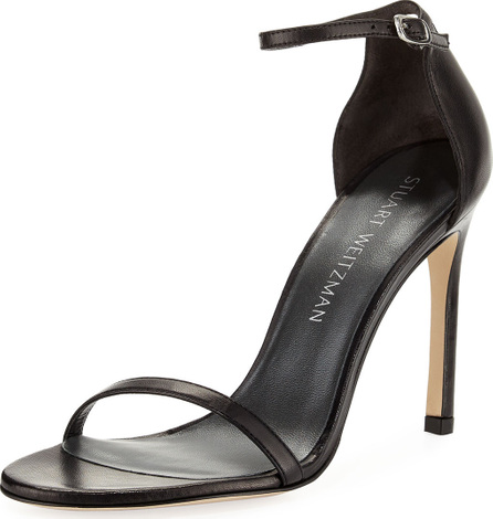 Stuart Weitzman Nudistsong 90mm Minimalist Leather Sandals