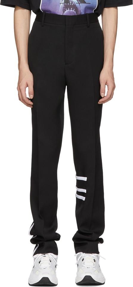 Calvin Klein 205W39NYC Black Wool Cigarette Trousers