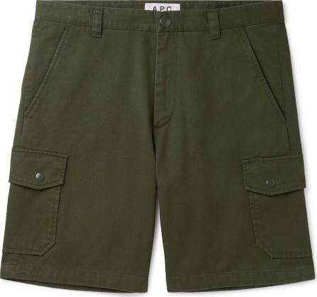 A.P.C. Slim-Fit Cotton-Twill Cargo Shorts