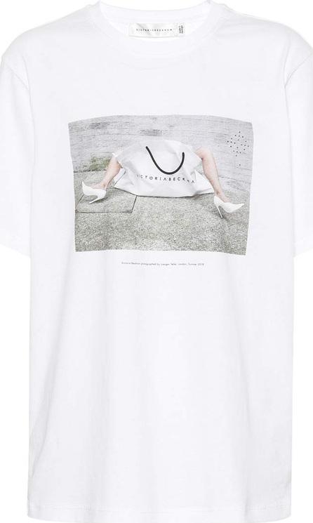 Victoria Beckham 10th Anniversary cotton T-shirt