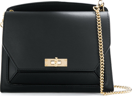 Bally Panelled chain strap shoulder bag