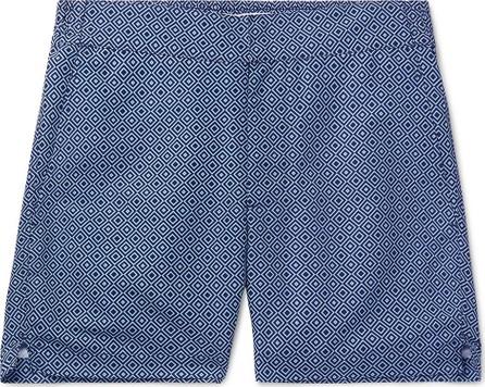 Frescobol Carioca Classic Slim-Fit Mid-Length Printed Swim Shorts