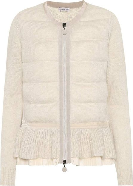 Moncler Moncler Twist wool-blend cardigan