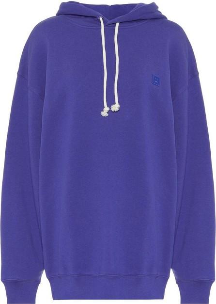 Acne Studios Face oversized cotton-jersey hoodie