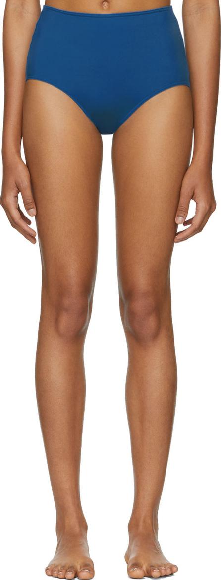 Her Line Blue Classic High-Waist Bikini Briefs