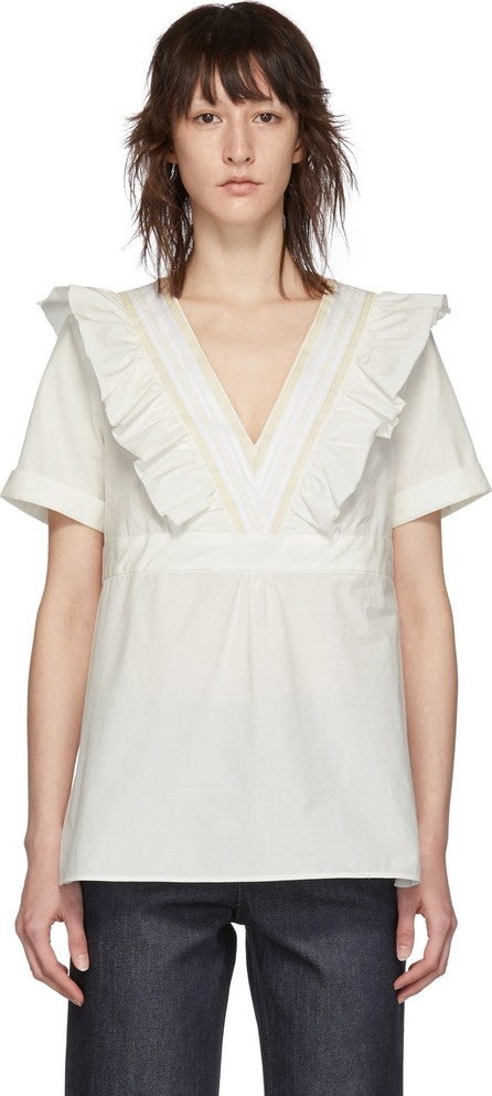 A.P.C. Off-White Erwin Blouse
