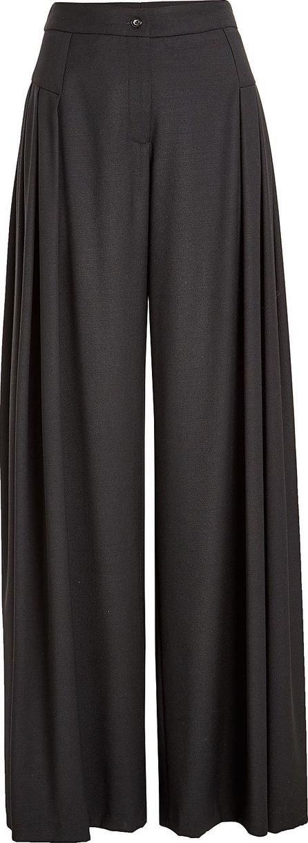 Nobi Talai Wide Leg Virgin Wool Pants