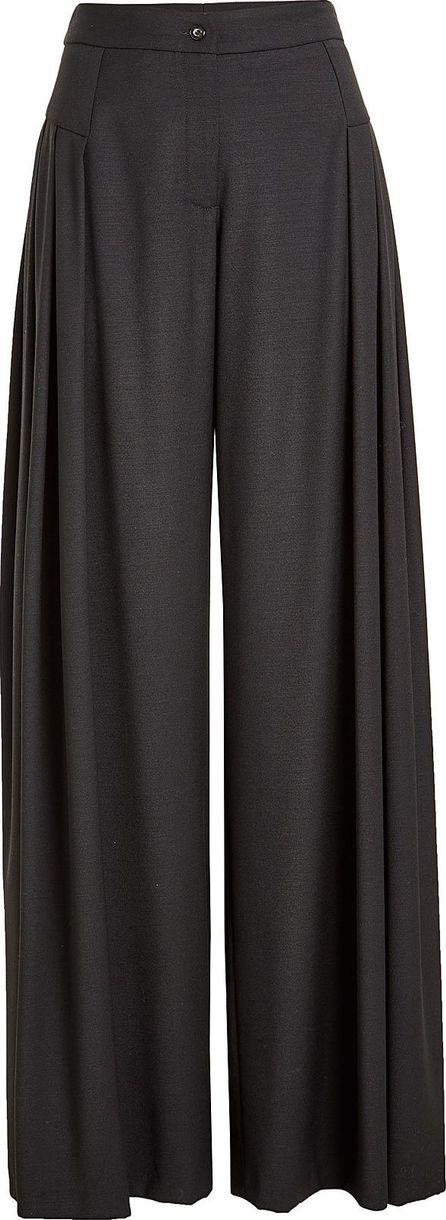 Nobi Talai Wide Leg Virgin Wool Pants