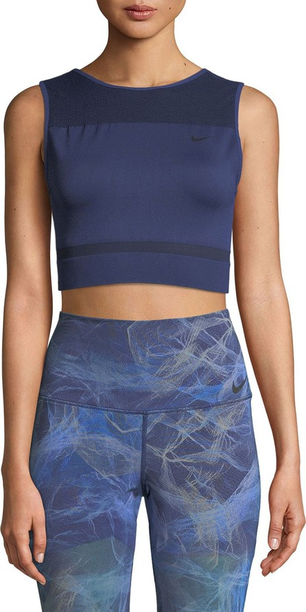 Nike Mesh U-Back Performance Crop Top
