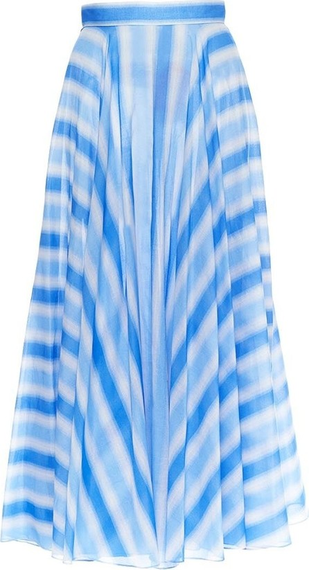 Azzedine Alaia Striped Maxi Skirt