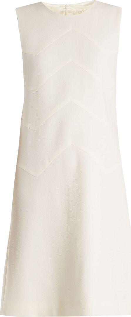 Goat Freya wool-crepe dress