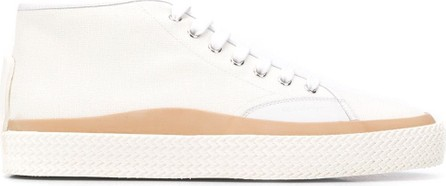 Salvatore Ferragamo Midi lace-up sneakers