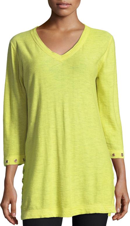 Belford 3/4-Slub V-Neck Sweater