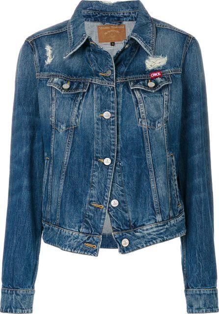 Vivienne Westwood Anglomania Weave denim jacket