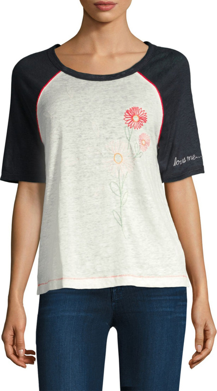 Splendid x Margherita Missoni Love Me Love Me Not Tee