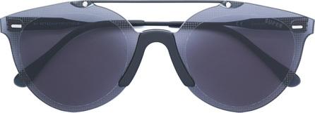 b67f30b40613d RetroSuperFuture Numero 34 Argento clear aviator glasses - Mkt