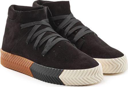 Adidas Originals by Alexander Wang Suede Skate Sneakers
