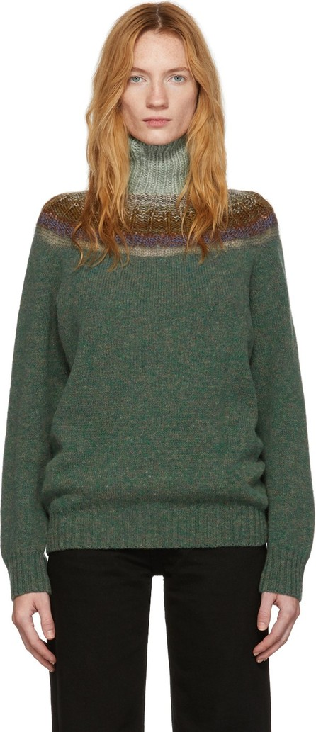 Bless Green Passenpulli Sweater