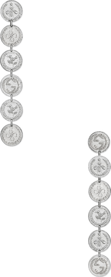 Gucci Coin Pendant Earrings