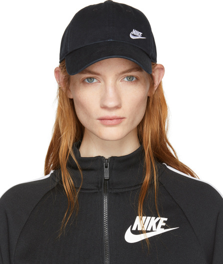 Nike Black Heritage 86 Classic Swoosh Cap