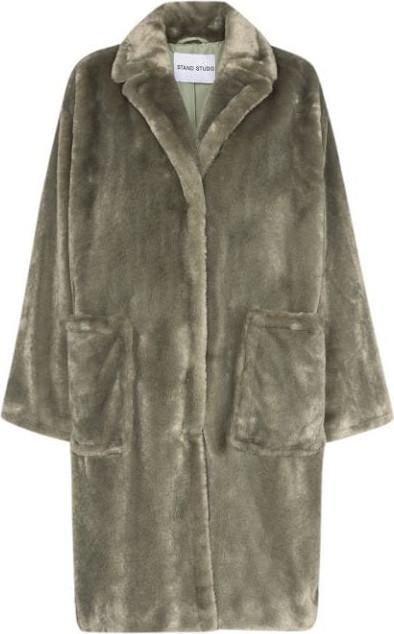STAND STUDIO Reyna faux fur coat