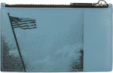 Calvin Klein 205W39NYC American flag print wallet