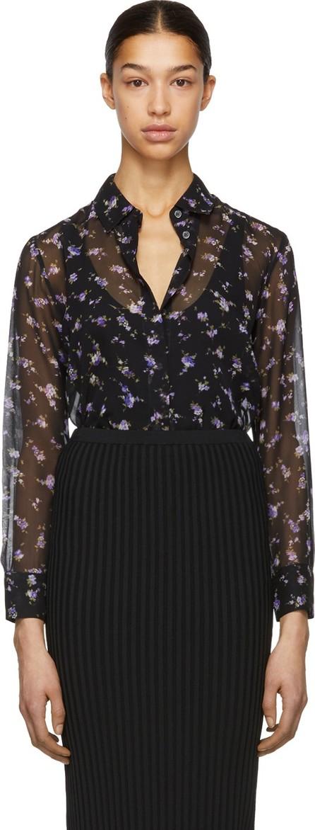 Altuzarra Black & Purple Chika Shirt