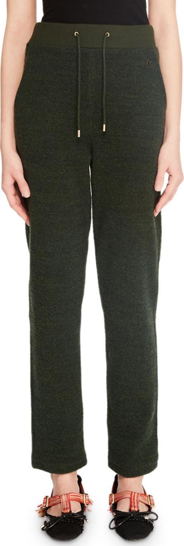 Carven Straight-Leg Drawstring Lounge Pants