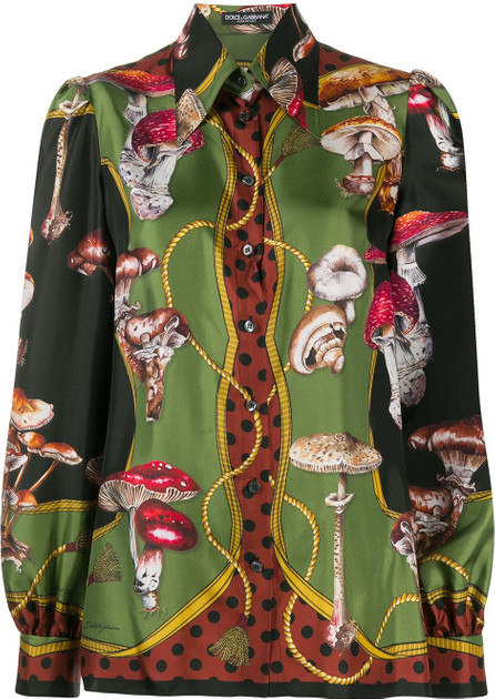 Dolce & Gabbana Silk patterned shirt