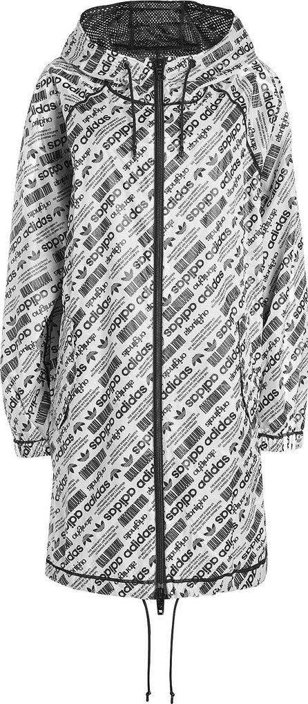 Adidas Originals by Alexander Wang Printed Mesh Parka