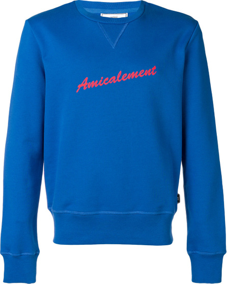 AMI Amicalement print sweatshirt