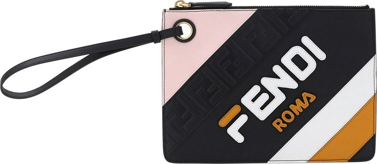 7979f4d96e09 Fendi Fendi Mania Small Flat Clutch Bag - Mkt