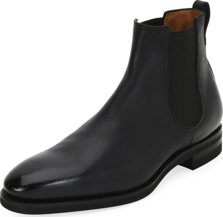 Bally Scavone Deerskin Leather Chelsea Boot