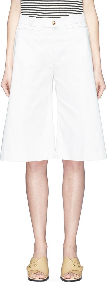 Acne Studios 'Tagino' cropped twill culottes