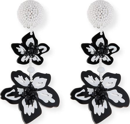 Sachin & Babi Luau Floral Drop Earrings