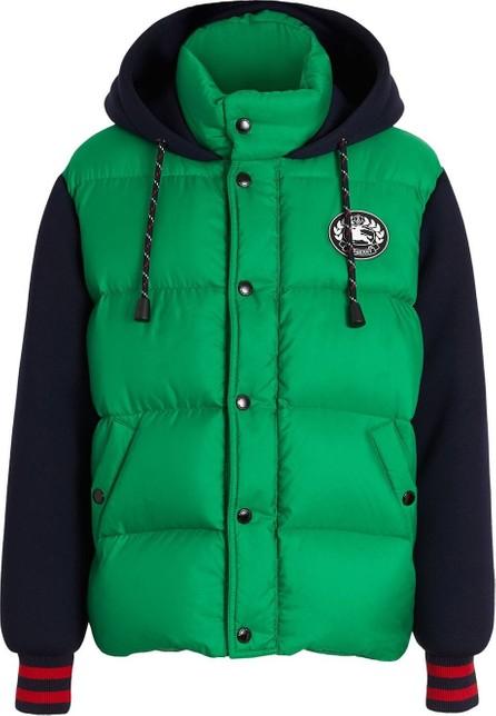 Burberry London England Neoprene Down-filled Hooded Jacket