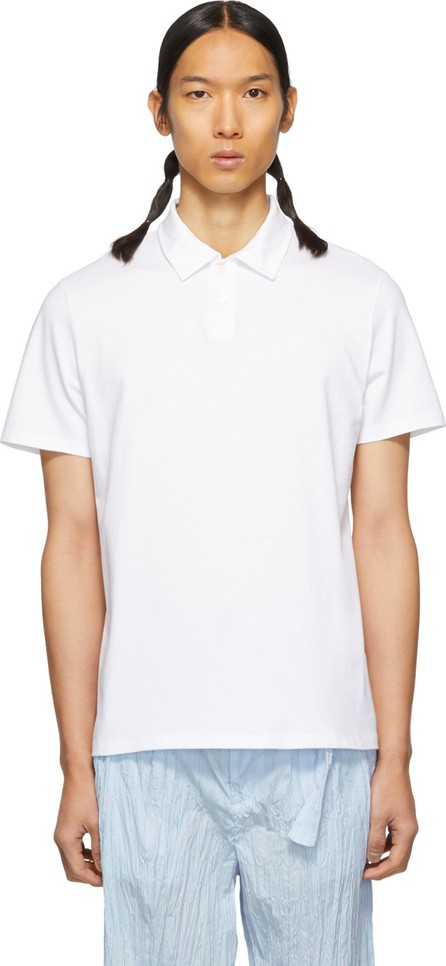A.P.C. White Pavement Polo