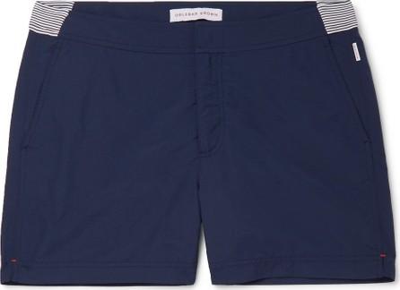 Orlebar Brown Setter Short-Length Striped Swim Shorts