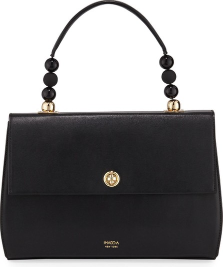 IMAGO-A Carre Leather Top Handle Bag