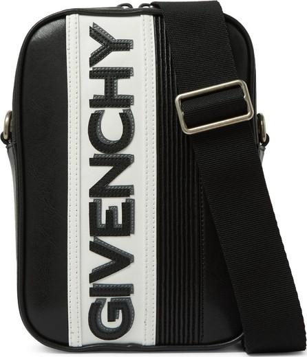 Givenchy Logo-Appliquéd Leather Messenger Bag