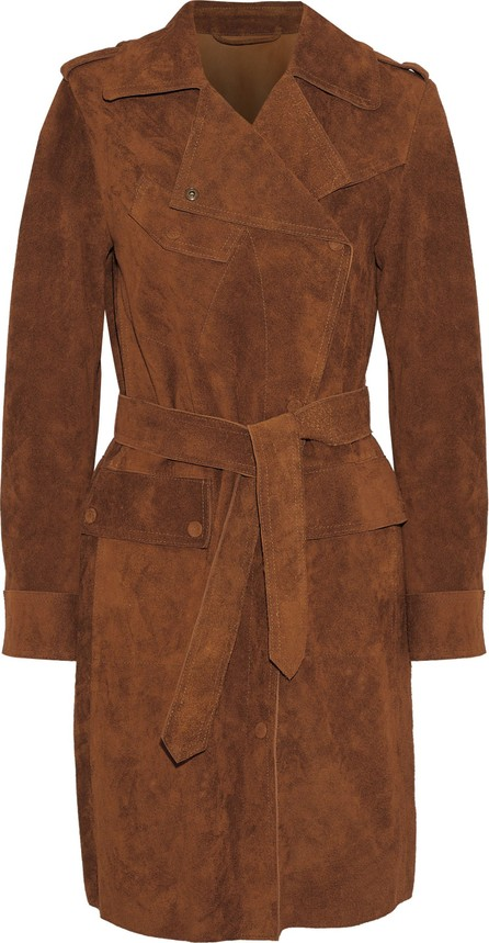Belstaff Airdale suede trench coat