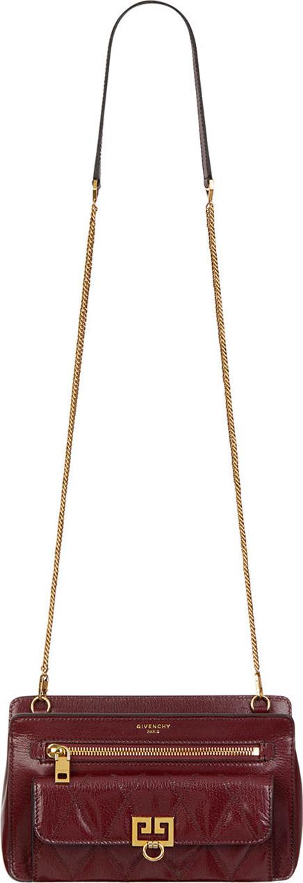 Givenchy Pocket Leather Crossbody Bag
