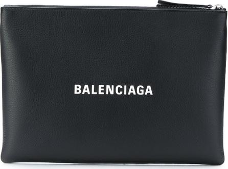 Balenciaga Everyday logo clutch