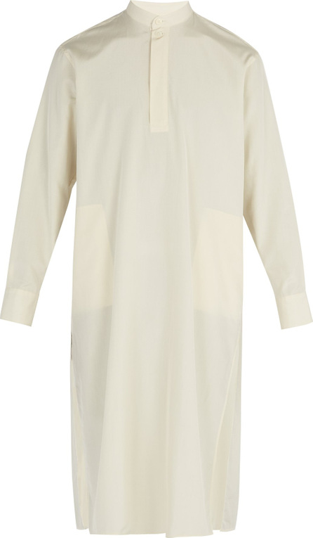 Connolly Silk-blend tunic shirt