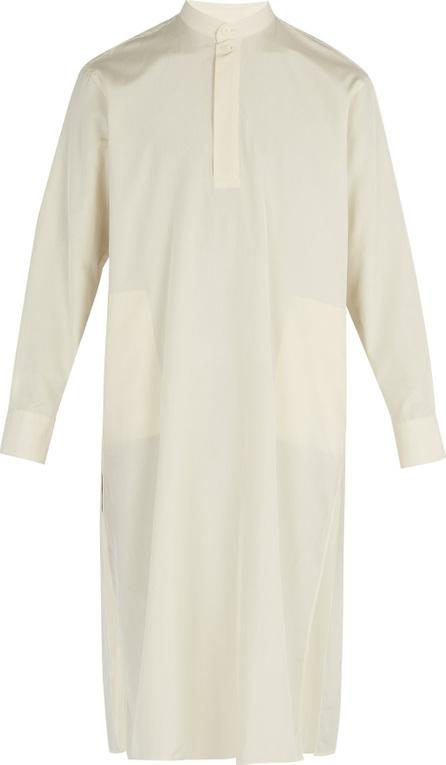 Connolly Silk-blend tunic shirt
