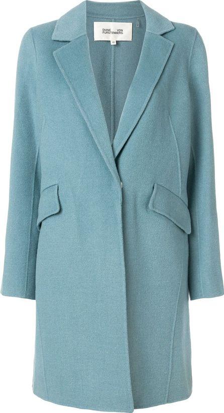 DIANE von FURSTENBERG tailored fitted coat
