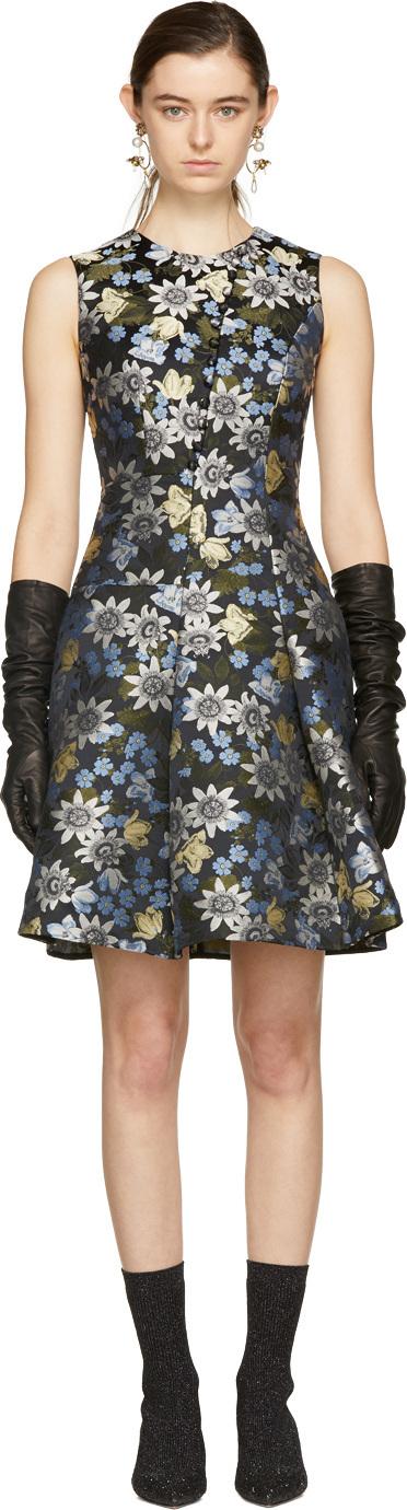 Erdem Multicolor Yesim Dress