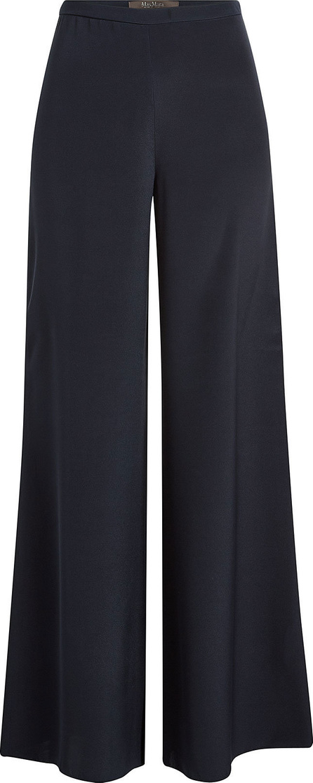 Max Mara Affeto Wide-Leg Silk Pants